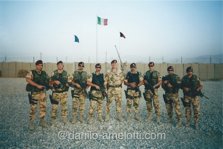 Close protection Team leader Afghanistan Enduring Freedom