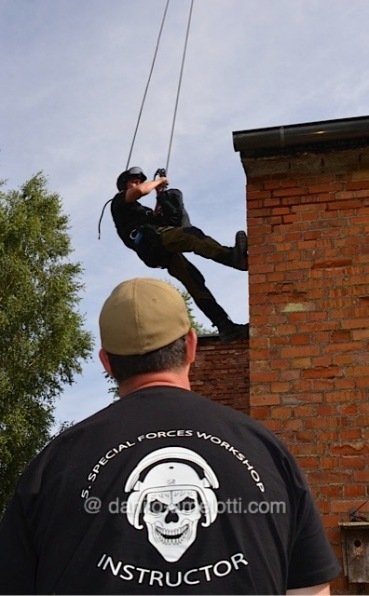 Instructor at a SAF workshop ... somewhere in Germany