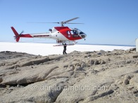 Sling load operation in Antarctica