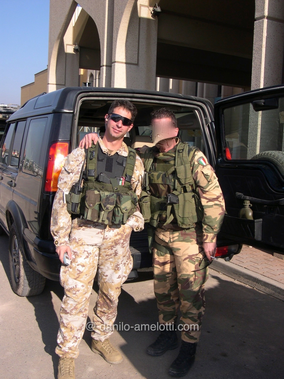 danilo-amelotti.com Iraq close Protection Incursori