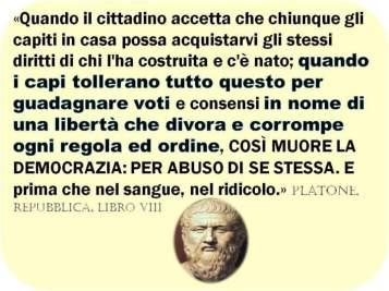 Platone diceva